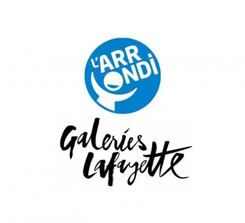 L'arrondi solidaire aux Galeries Lafayette