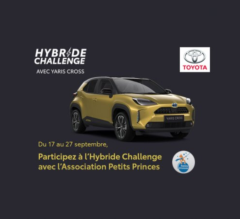 Un hybride challenge solidaire