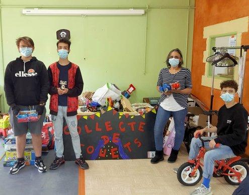 Des jouets recyclés et solidaires sur Vinted !