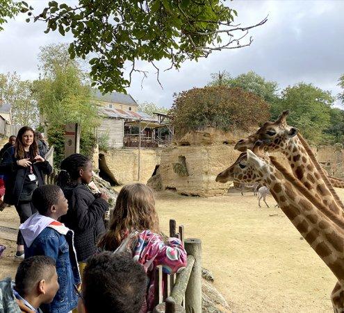 Un week-end au zoo pour des enfants suivis à Robert Debré