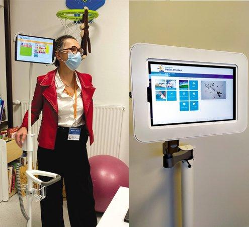 Tabler sur l'interactivité à l'hôpital