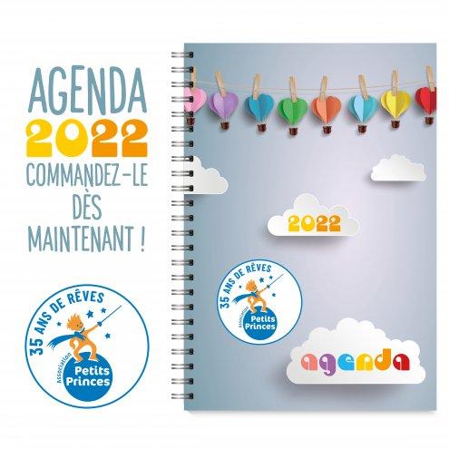 Un agenda solidaire, pour y noter tous vos rêves :)