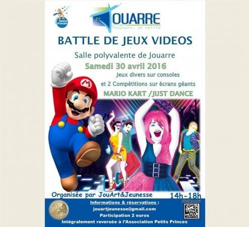 Battle de Jeux Vidéos en live à Jouarre (77)