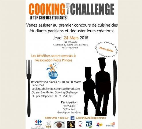 """""""Cooking Challenge"""" : Fourchettes et couteaux au service des petits princes !"""