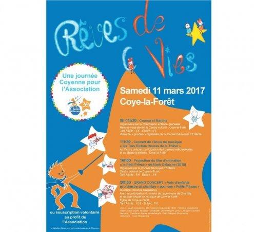 A Coye la Forêt, une journée sportive, musicale ET solidaire !