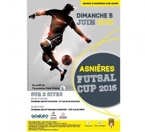 Tournoi solidaire de Futsal à Asnières-sur-Seine !