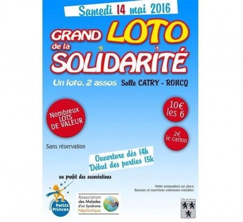 Loto solidaire à Roncq (59 – nord)