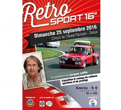Retrosport sur les chapeaux de roues, dimanche 25 septembre 2016 à Dreux