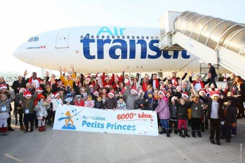 6 000e rêve de l'Association Petits Princes