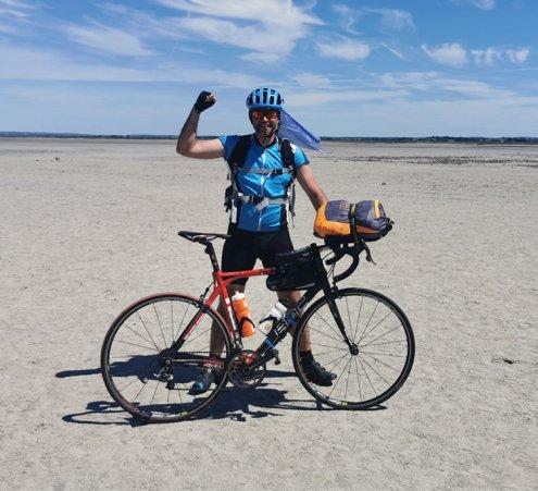 24HomeRide : 24 étapes solidaires à vélo !