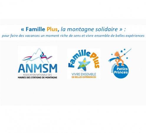 """Opération """"Famille Plus, la montagne solidaire"""" : de nombreuses stations engagées à nos côtés"""