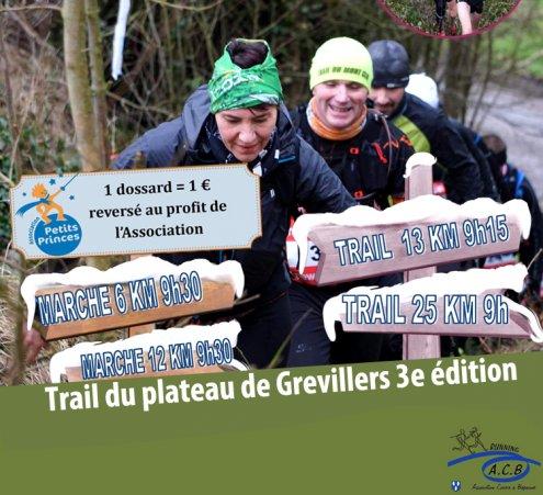 Un trail solidaire à Grévillers (62)