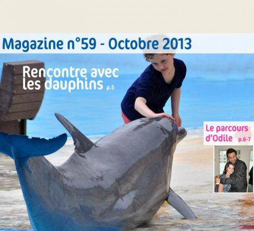 Magazine n°59 - Rencontre avec les dauphins
