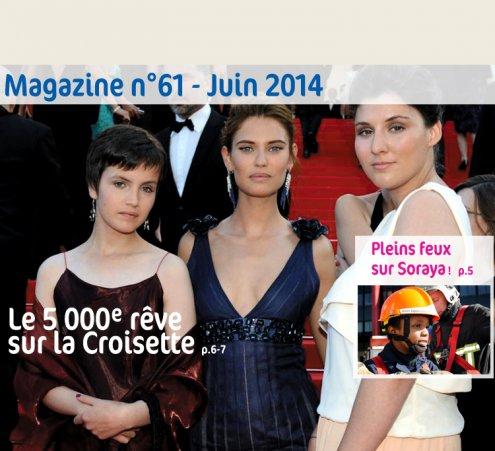 Magazine n°61 - Le 5 000 rêve sur la Croisette