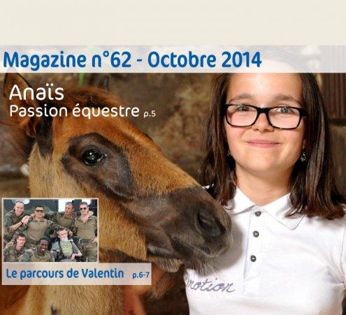 Magazine n°62 - Anaïs, passion équestre