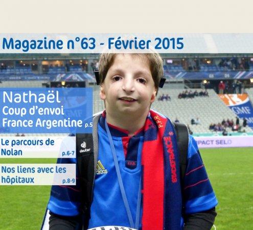 Magazine n°63 - Nathaël - Coup d'envoi - France VS Argentine