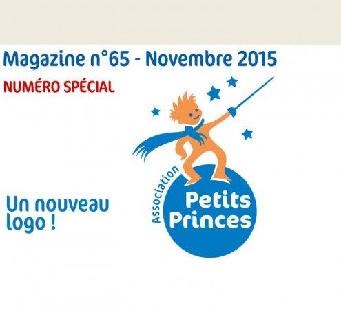 Magazine n°65 - Un nouveau logo