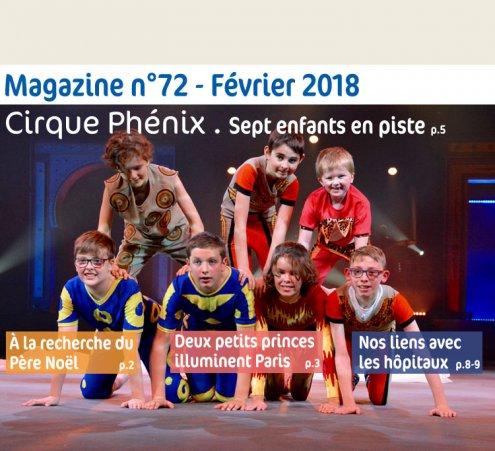 Magazine n° 72 - Cirque Phénix, sept enfants en piste