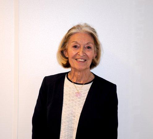 Janine, bénévole depuis 2003