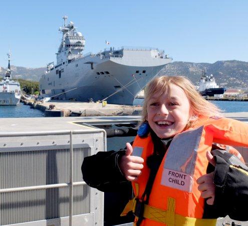 Embarquer à bord de la Marine Nationale