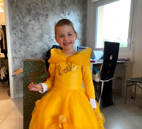 Meryl, la princesse Belle