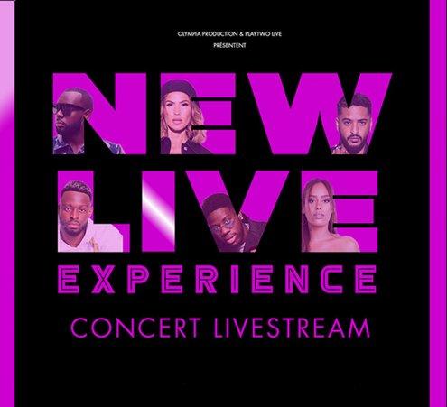Un concert digital - New Live Experience