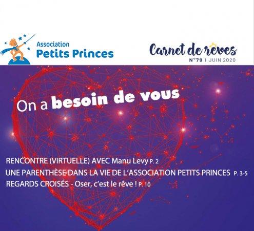 Carnet de rêves n°79 - Juin 2020