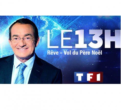 TF1 - Journal télévisé de 13 heures - Vol du Père Noël