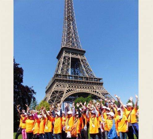 17 et 18 mai 2014 : les petits Bourguignons montent à Paris