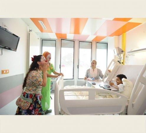 Toute l'année 2015 : des rires à l'hôpital Necker-Enfants Malades (AP-HP)