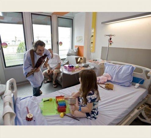 D'octobre 2014 à octobre 2015 : l'hôpital en musique