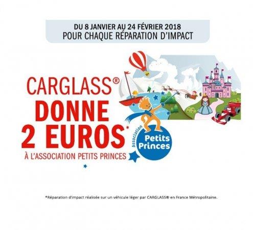 Carglass soutient l'Association Petits Princes