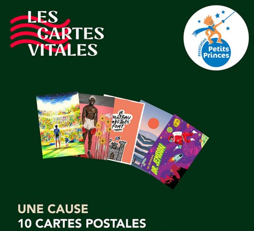 Les Cartes Vitales, des cartes postales artistiques et solidaires
