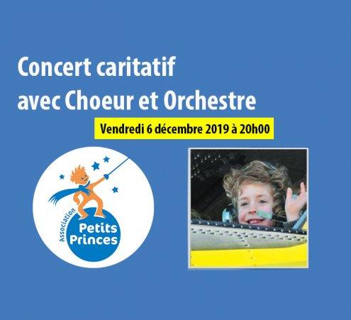 Choeur Arsis vous invite à un concert caritatif au profit de l'Association Petits Princes