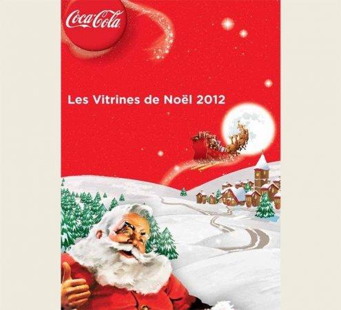 Les Vitrines de Noël Coca-Cola sur D8