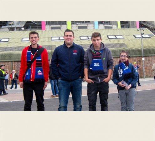La Coupe du monde de rugby pour 4 passionnés !