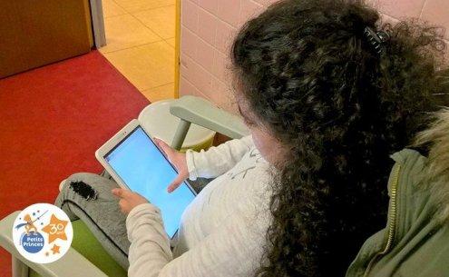 Des tablettes tactiles au CRCM du CHU de Nancy