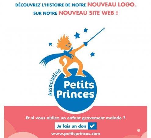 Nouveau logo et nouveau site web de l'Association Petits Princes