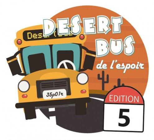 Desert Bus de l'Espoir