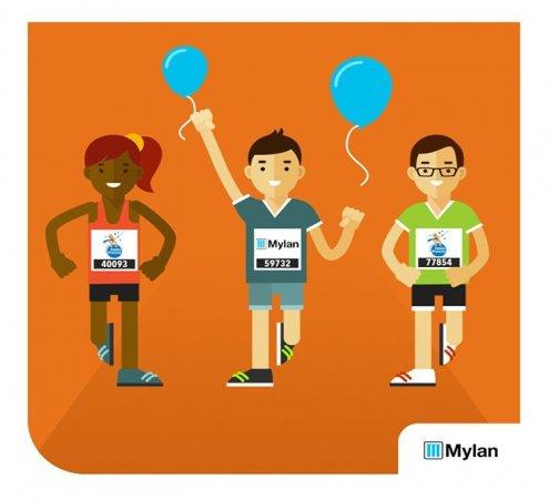 Mylan : 10 ans de course solidaire