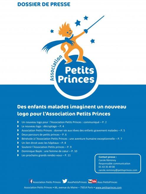 Nouveau logo de l'Association Petits Princes
