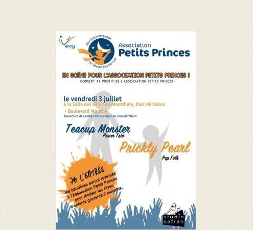 En scène pour l'Association Petits Princes !