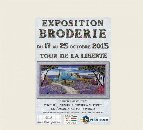 Exposition de broderie à St-Dié-des-Vosges