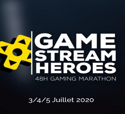 Game Stream Héros : les streamers ont du cœur !