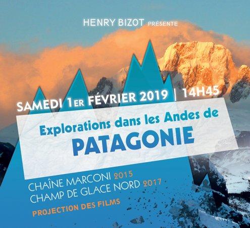 Ciné-conférence : Exploration dans les Andes de Patagonie
