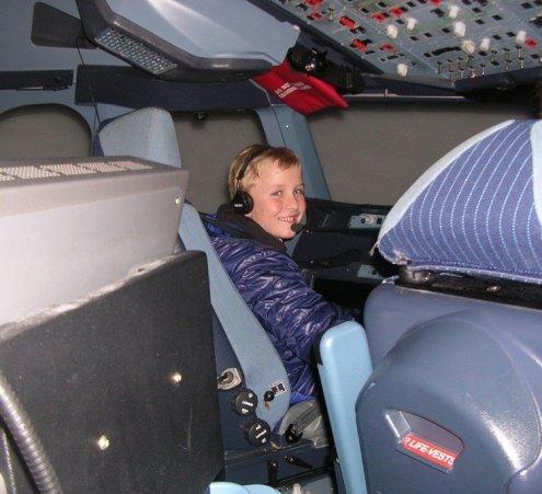 Aux commandes d'un Airbus A380