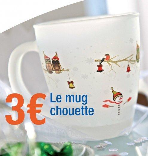 Un Mug Chouette pour Noël !