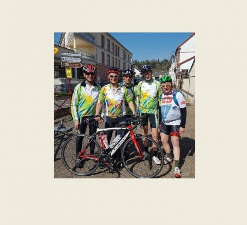 Des amis cyclo mobilisés pour les rêves