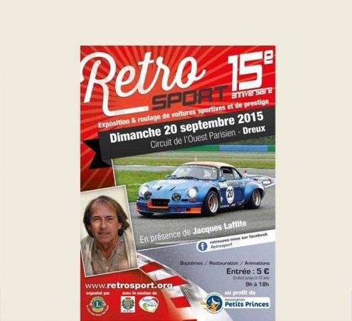 Le Retrosport - Dimanche 20 septembre 2015 – Dreux