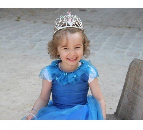 Petite princesse et grand château